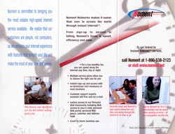 Original Noment Brochure (Outside)