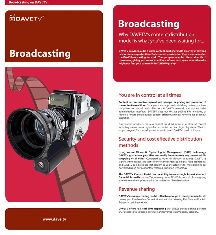 Broadcasting Insert