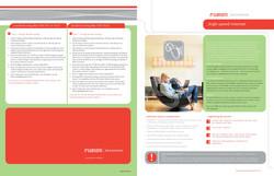 Fustion Broadband Internet Brochure