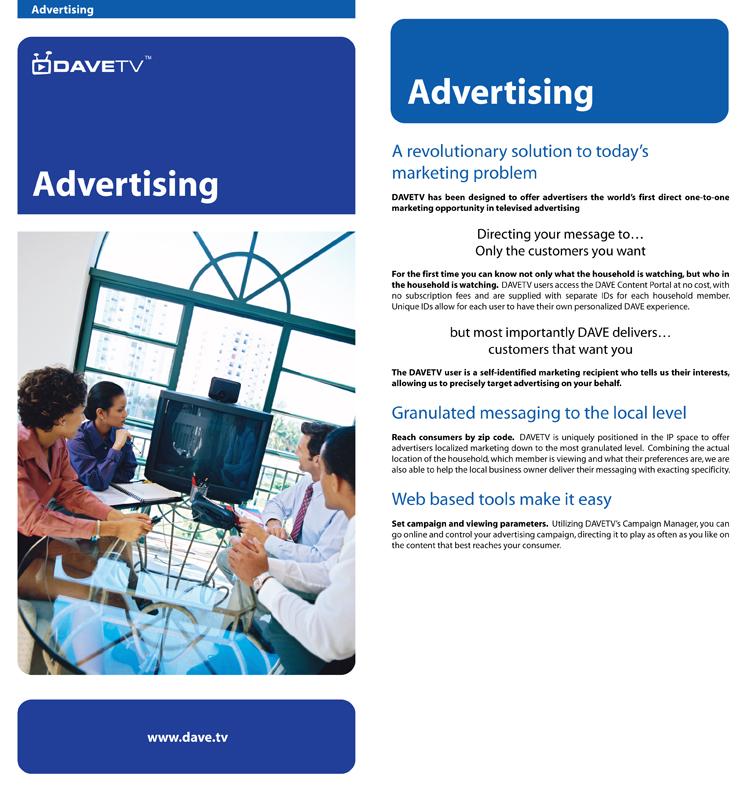 Advertising Insert