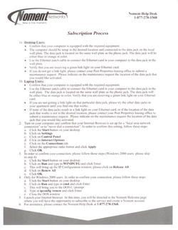 Original Noment Marketing Sheet
