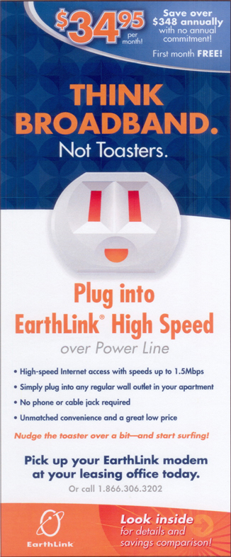 EarthLink Powerline Brochure 01