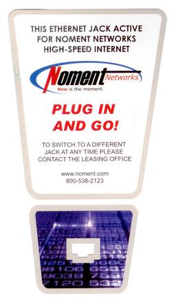 Noment Ethernet Flag