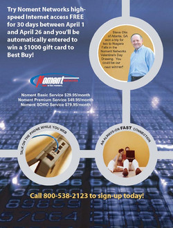 Noment Best Buy Direct Mail (Back)