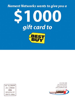 Noment Best Buy Direct Mail (Front)