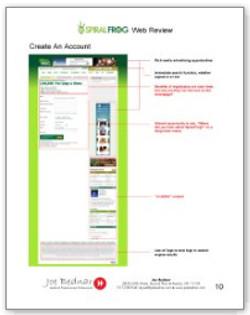 Website Markup