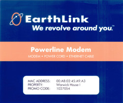 EarthLink Powerline Packaging