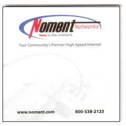 Noment Promo Post-It Pads