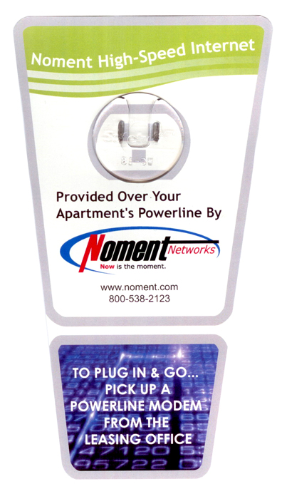 Noment Powerline Modem Flag