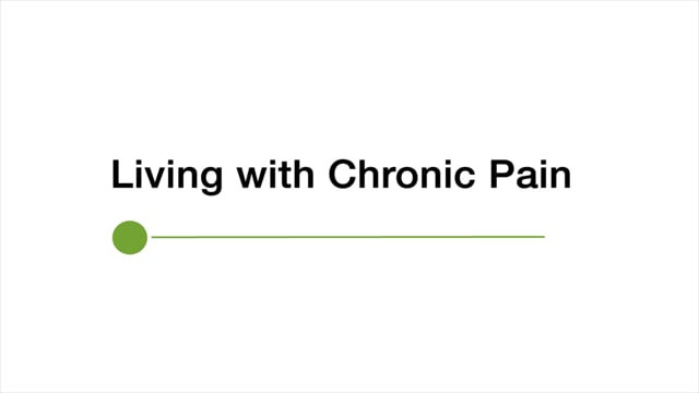 Petaluma Health Center: Living with Chronic Pain