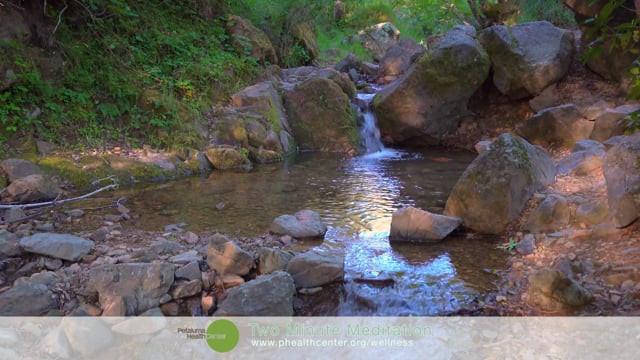 Petaluma Health Center: 2 Minute Meditation