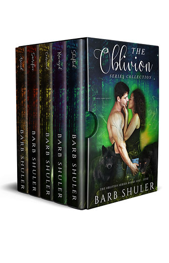 The Oblivion Series Collection - 3D Boxs