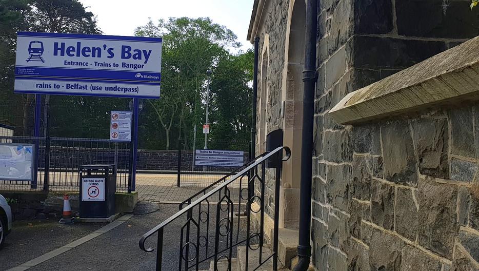 Hlens Bay Train Station