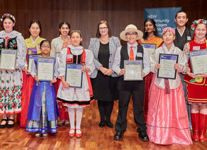 The Minister's awards for Excellence in Community Languages Schools Student Achievement