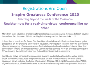 An excellent national free online conference