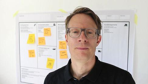 Geschäftsmodell Entwicklung Business Model Canvas