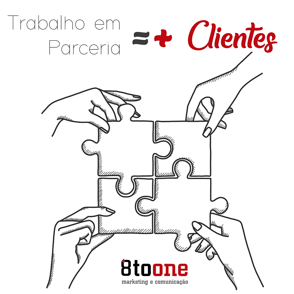 Trabalho em parceria é o sucesso para mais clientes