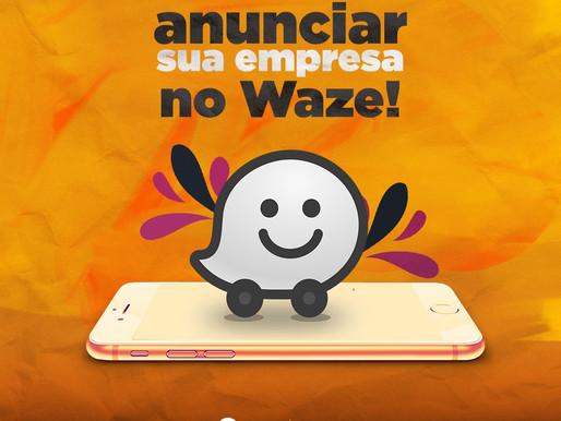 Agora você pode anunciar sua empresa no Waze!