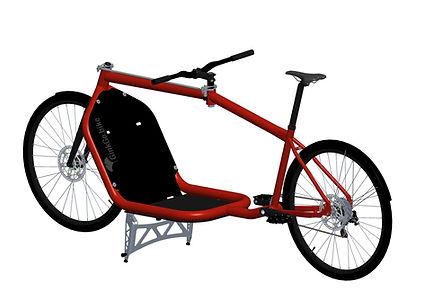 GinkGo Cargo Bike mit Standard flaches Bett
