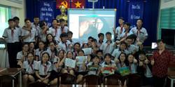 Skype visit with Vietnamese 8th graders.
