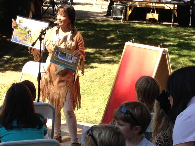 Sacajawea reading - Sonoma Book Fest