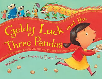 goldy luck and the three pandas, picture book, charlesbridge publishing, fairy tale, multicultural, folk tale, goldilocks and the three bears