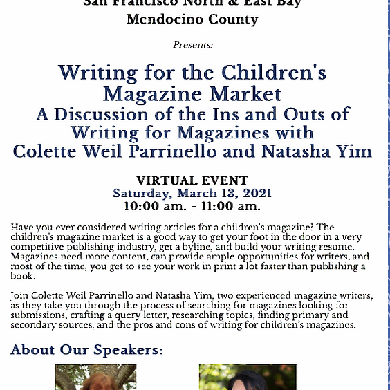 Writing for the Children's Magazine Market