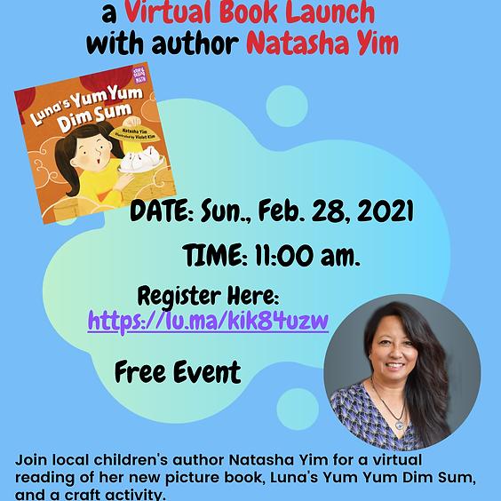 Luna's Yum Yum Dim Sum Virtual Book Launch