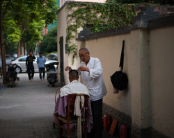 Roadside Barber