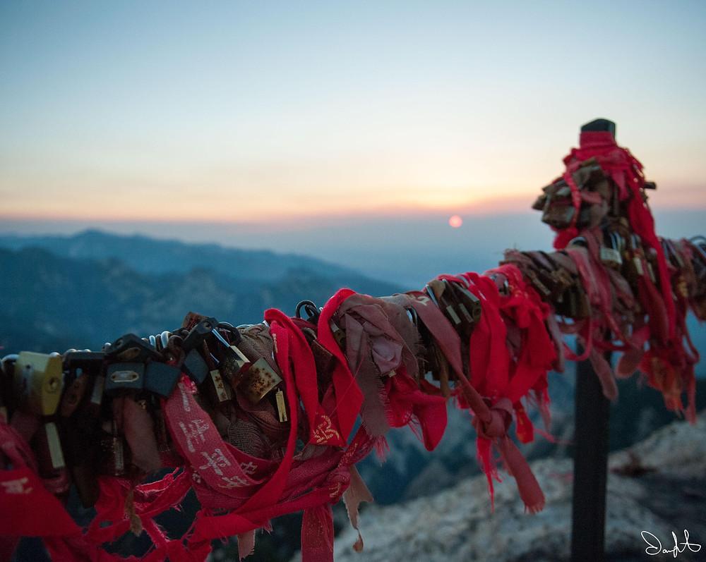 Huashan Sunset