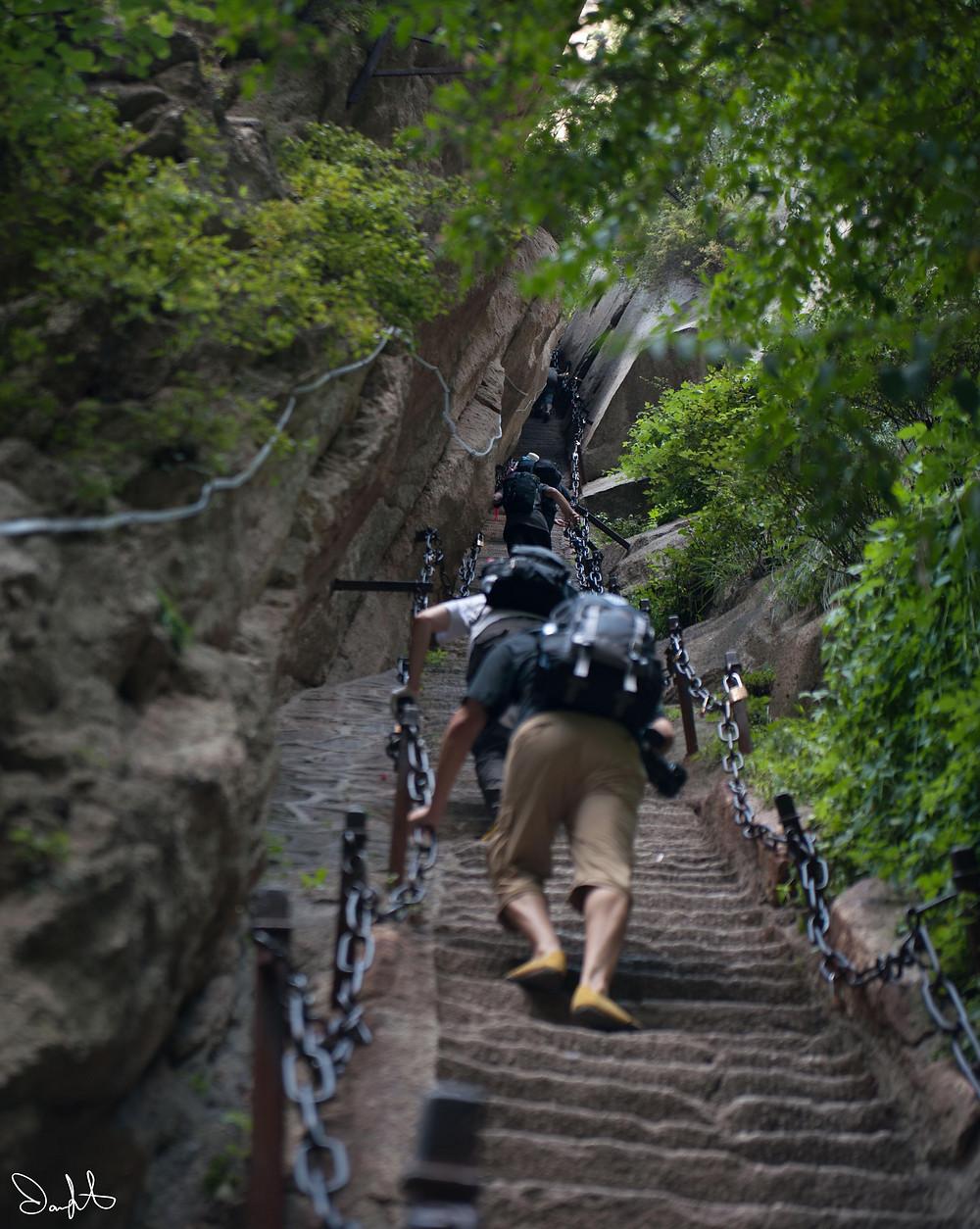 Huashan Soldier's Path