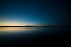 Lake Champlain Silhouette