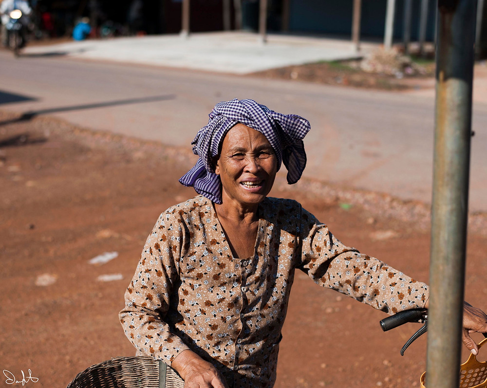 Woman at the market, Siem Reap, Cambodia
