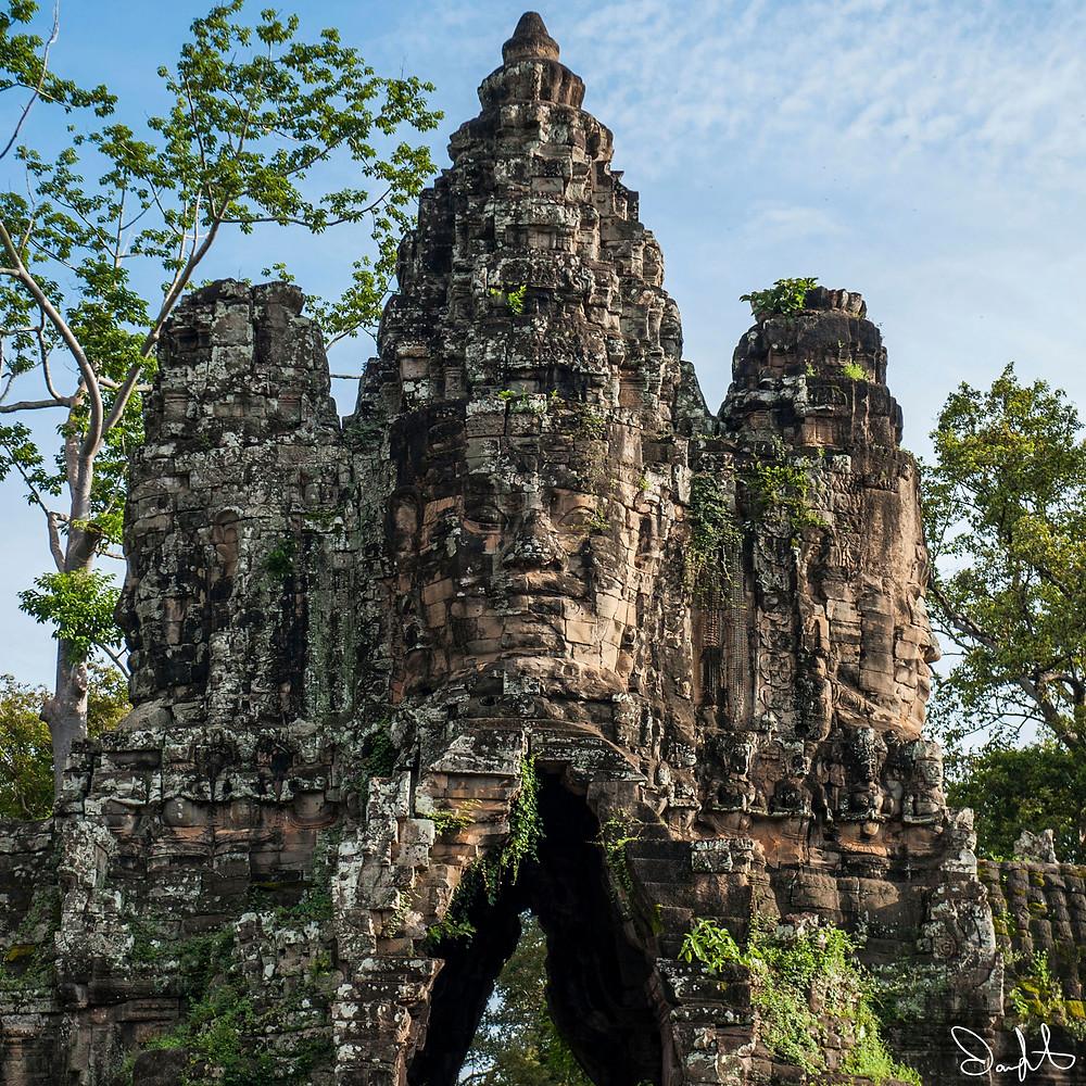 South Gate Angkor Thom, Cambodia