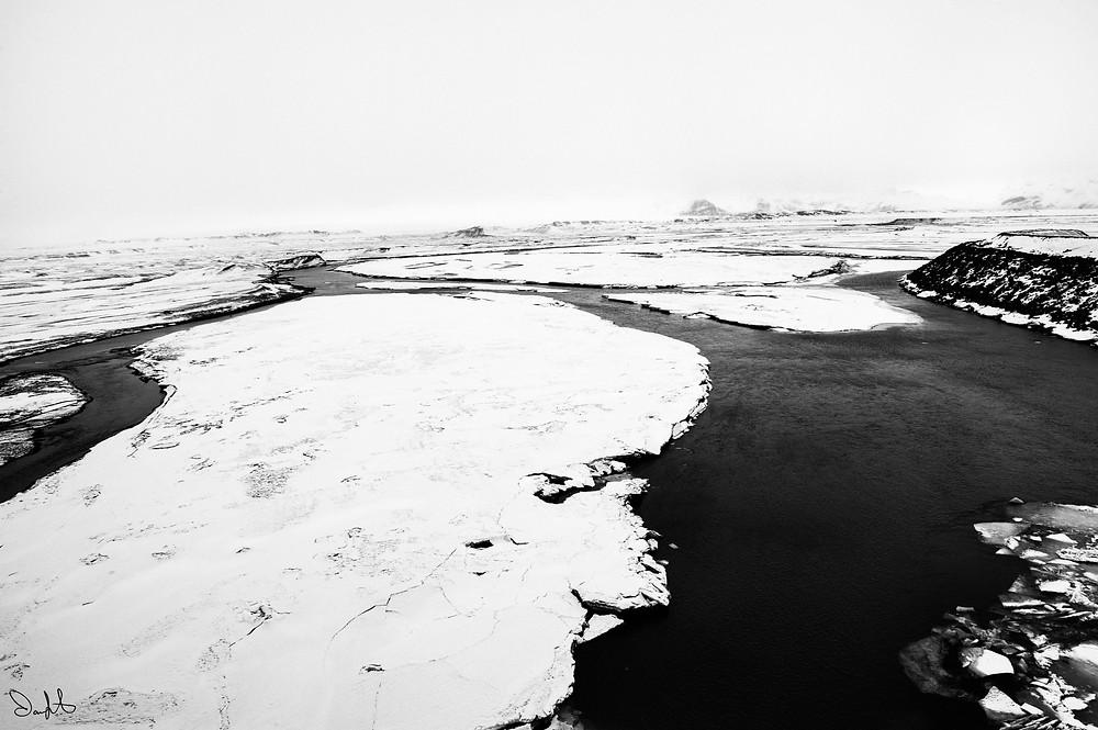 Ice Floe, Iceland