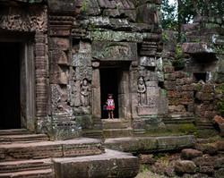 Girl in Temple