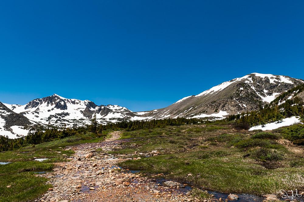 Mt. Neva, Caribou Pass