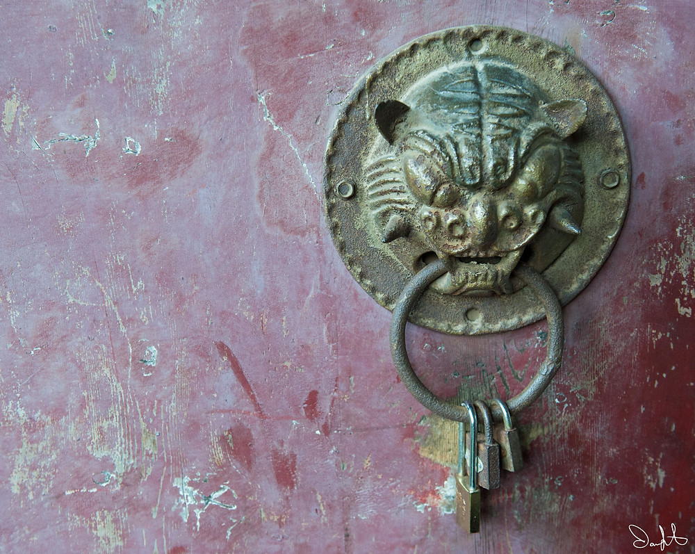 Huashan Door Handle