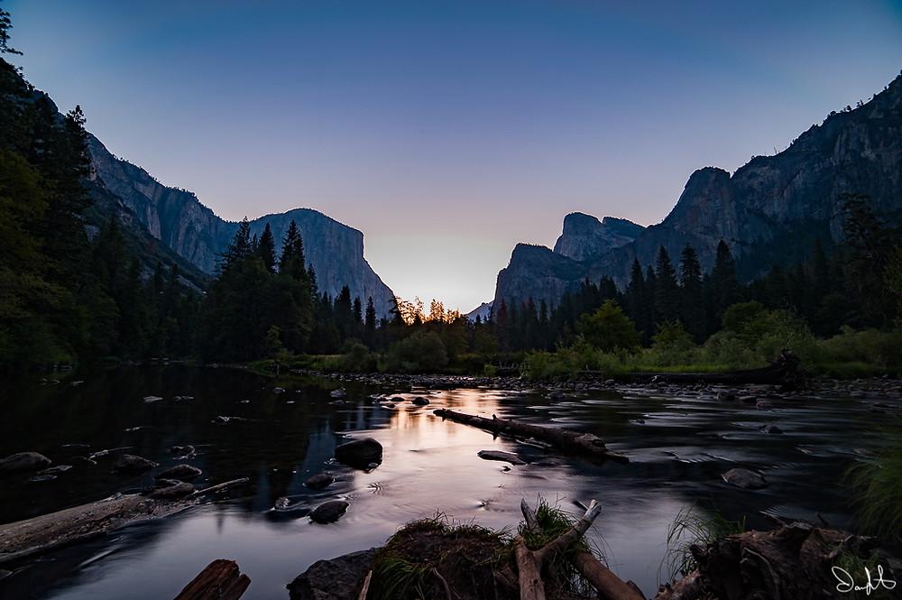 El Capitan and the Merced River, Yosemite