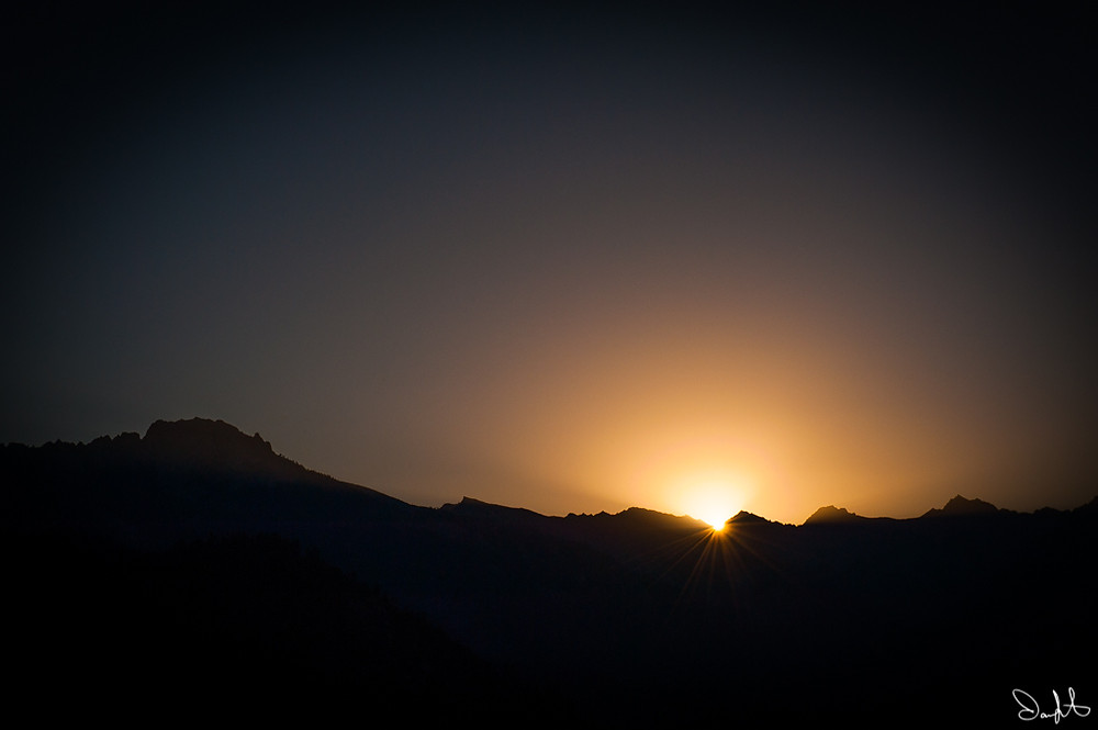 Moro Rock Sunrise