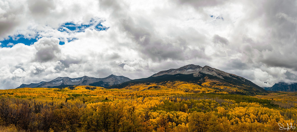 East and West Beckwith Peaks, Gunnison National Forest