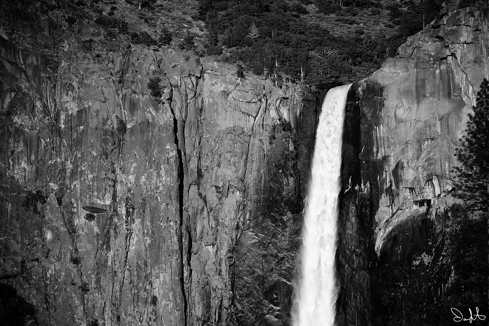 The top half of Bridal Veil Falls