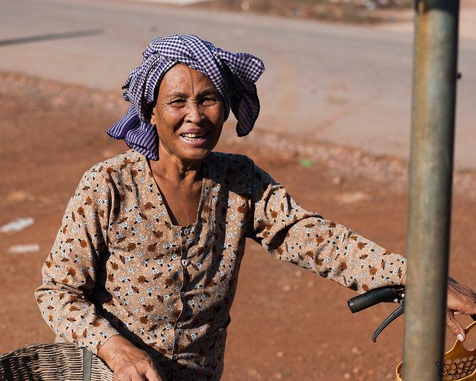 Woman at Siem Reap Market