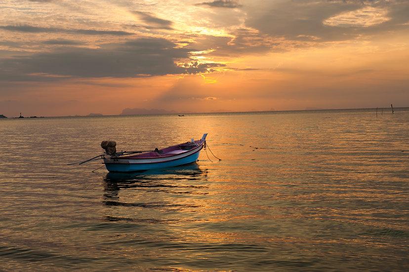 Koh Pha Ngan Sunset 1