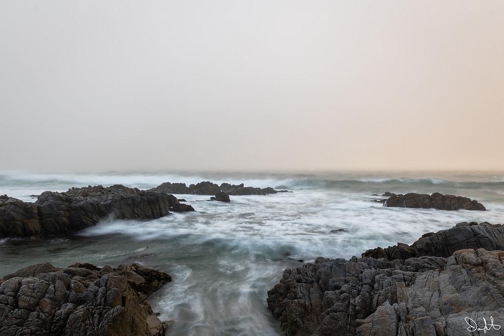 sky and mist