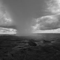 Island in the Sky Rainstorm