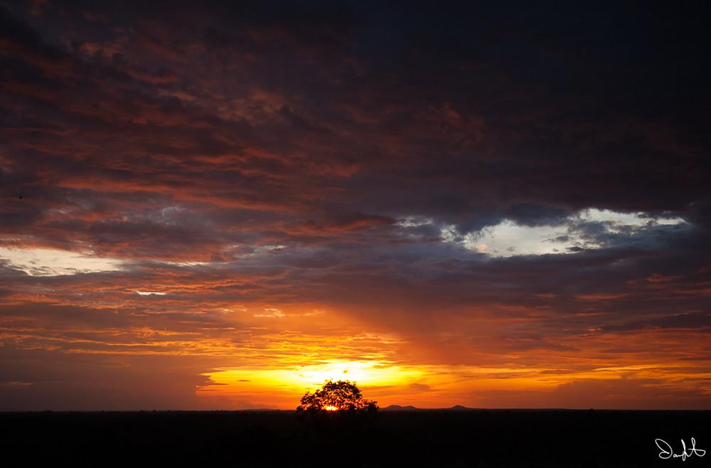 Koh Ker Sunset
