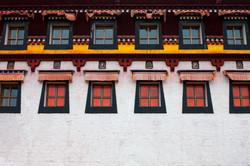 Dazhasi Monastery Windows