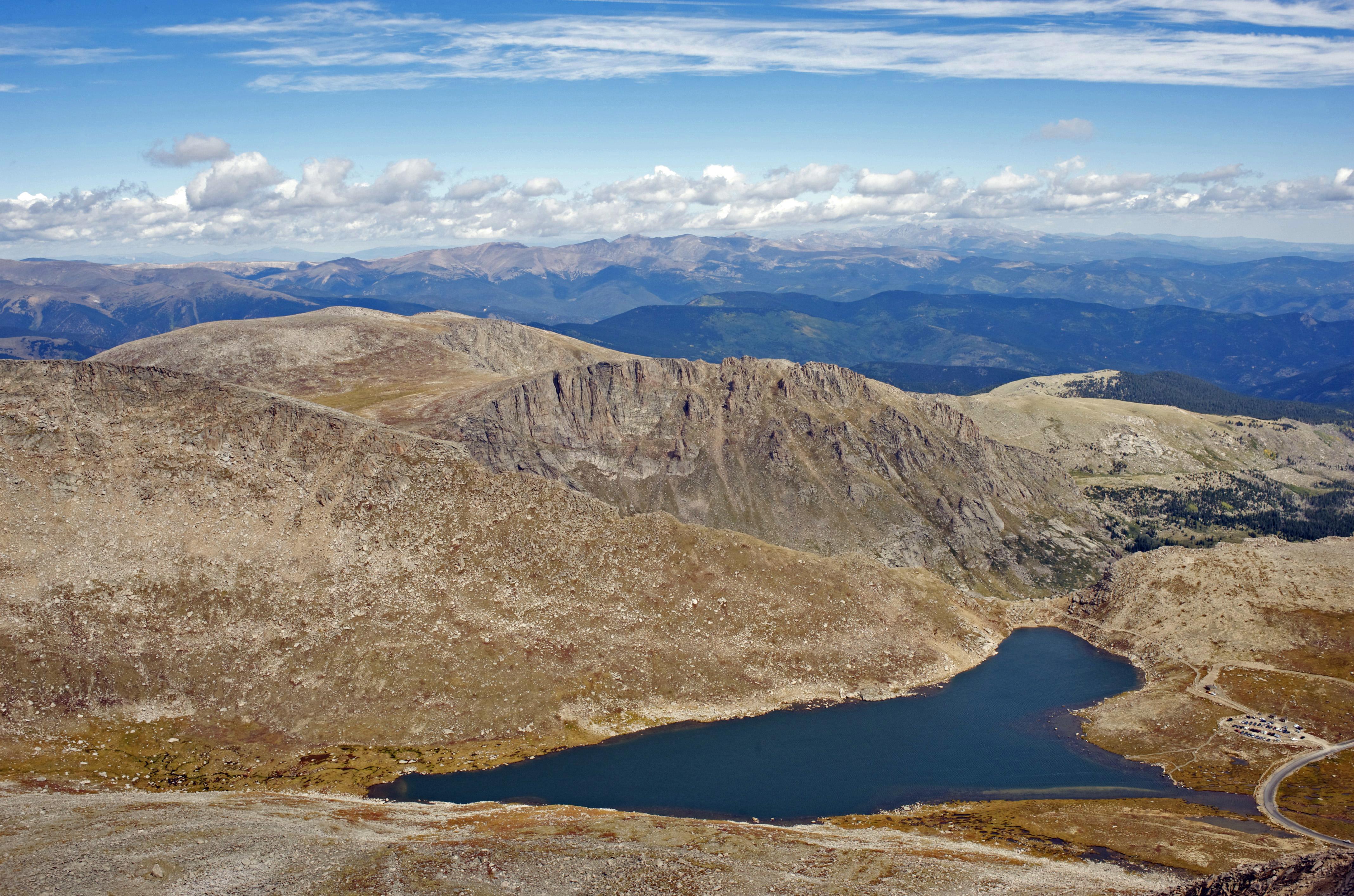 Summit Lake Mt. Evans