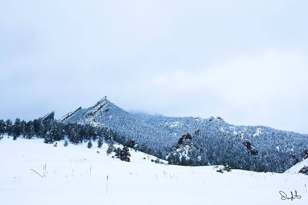 Flatirons Chautauqua park Boulder, Colorado